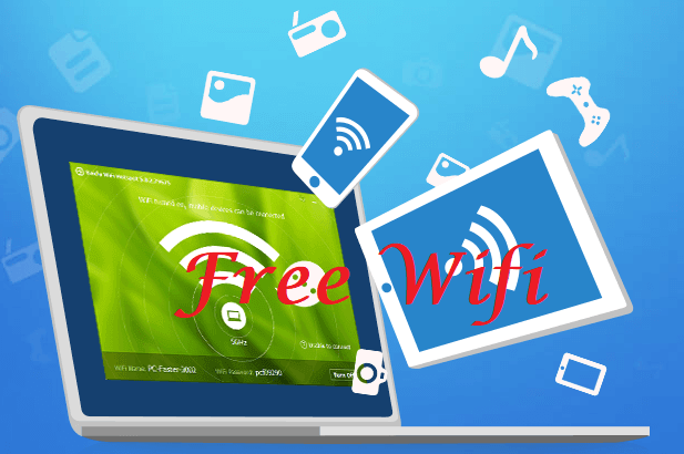 How to Create your own Free WiFi