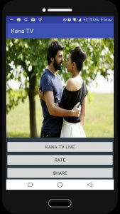 Kana Tv Mobile Application Live Streaming