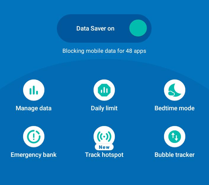 Mobile Data Saver App